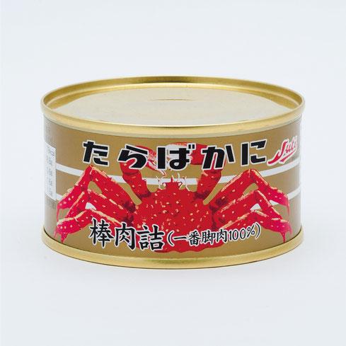 たらばかに,ストーたらばかに棒肉(一番脚肉100%),ストー缶詰株式会社