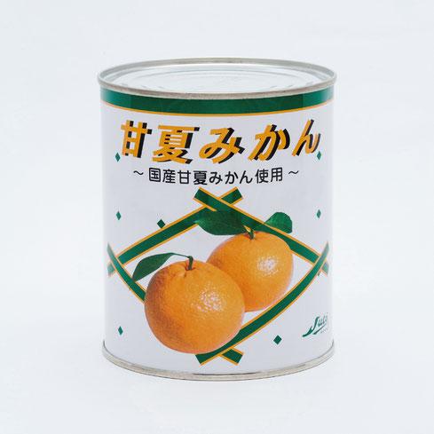 フルーツ缶詰,甘夏,ストー甘夏みかんヘビーシラップ850g,ストー缶詰株式会社