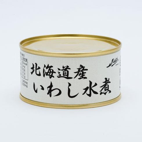 いわし,ストー北海道産いわし水煮,ストー缶詰株式会社
