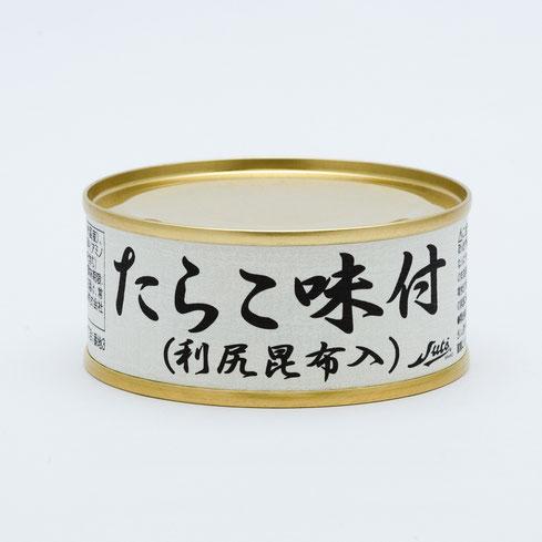 たらこ,ストーたらこ味付(利尻昆布入),ストー缶詰株式会社