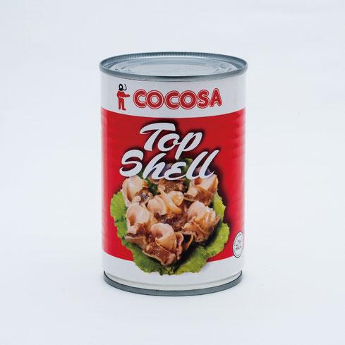 トップシェル,COCOSA南米産トップシェル水煮,ストー缶詰株式会社