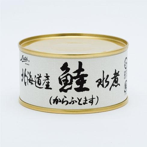 鮭,からふとます,ストー北海道産鮭水煮,ストー缶詰株式会社