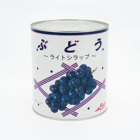 フルーツ缶詰,ブドウ,ストー中国産ぶどうライトシラップ3kg,ストー缶詰株式会社