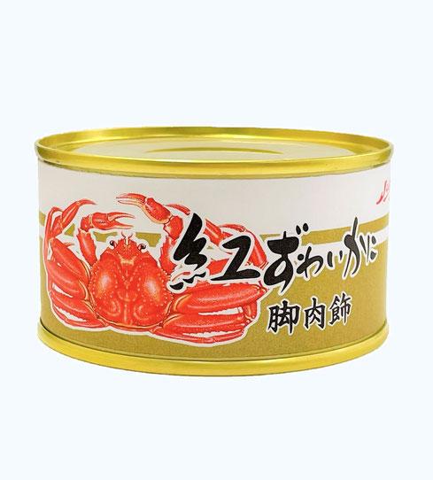 ずわいかに,ストー紅ずわいかに入りかにフレーク脚肉飾(ブレンド),ストー缶詰株式会社
