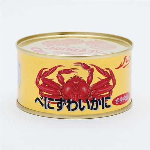 ずわいかに,ストーべにずわいかに赤身肉詰,ストー缶詰株式会社