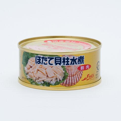 ほたて貝,ストーほたて貝柱水煮割肉(金色),ストー缶詰株式会社
