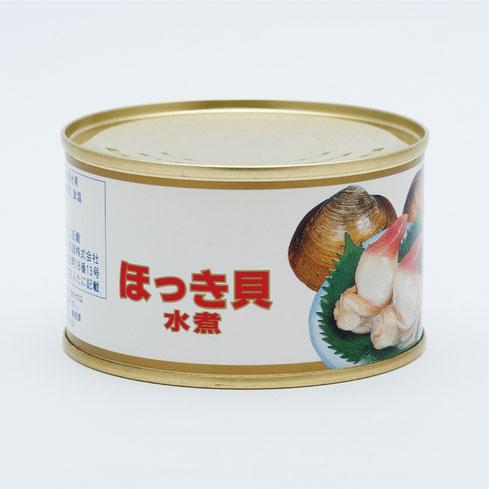 ほっき貝,ストーほっき貝水煮,ストー缶詰株式会社