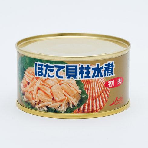 業務用水産缶詰,ストーほたて貝柱水煮割肉(金色),ストー缶詰株式会社