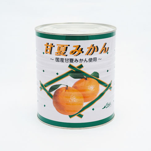 フルーツ缶詰,甘夏,ストー甘夏みかんヘビーシラップ3.1kg,ストー缶詰株式会社