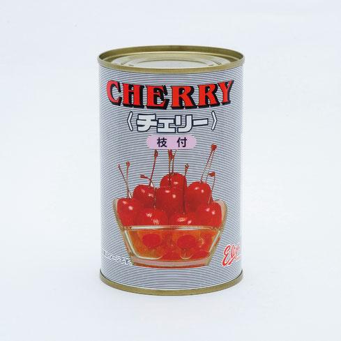 フルーツ缶詰,さくらんぼ,エリザ中国産枝付チェリーエキストラライトシラップ,ストー缶詰株式会社