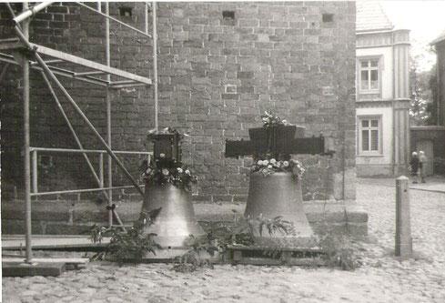 Die Glocken III und IV des aktuellen Geläuts (2007) wurden von dem gebürtigen Güstrower Dr. Stade gestiftet.