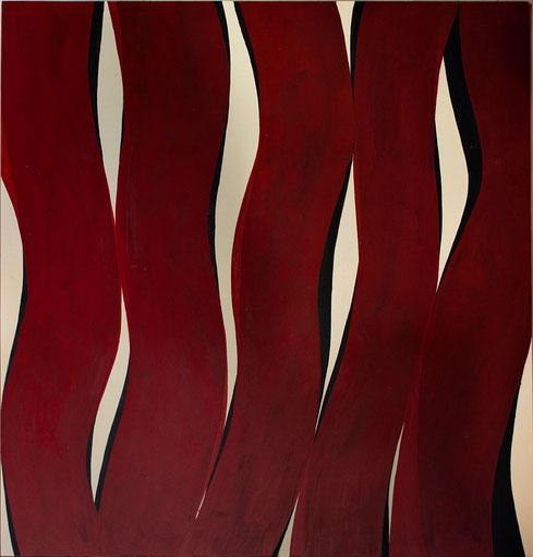 1,80m x 1,90m acrylique et huile sur toile      ©BD-F