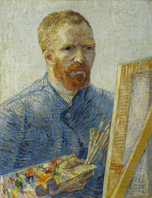 Self -Portrait as a Painter 1887-1888