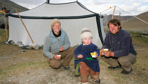 Thomas und Martina Zwahlen, Ladakh, Nomaden in Kharnak, Himalaya Tours