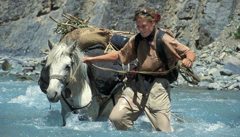 Martina Zwahlen, Trekking in Zanskar, Shune-Shade, Morang La, Padum