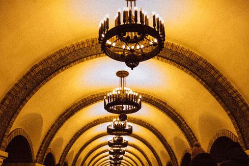 Golden Gate metro station in Kyiv