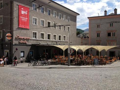 Blick auf die Szene Salzburg