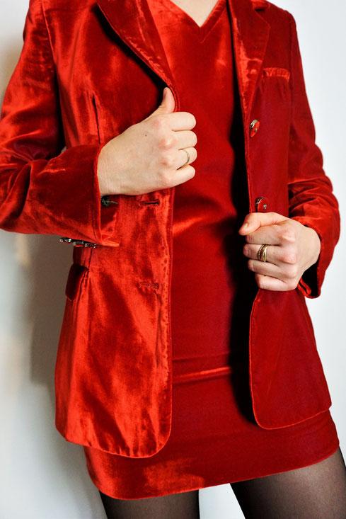 Felicita Vintage - Tailleur robe vintage Versace