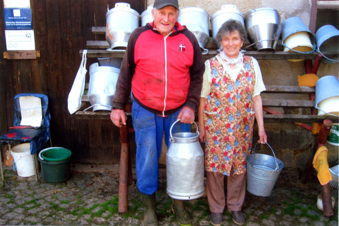 Bild: Milchbauern Regine und Sigmar Hantzsche Seeligstadt