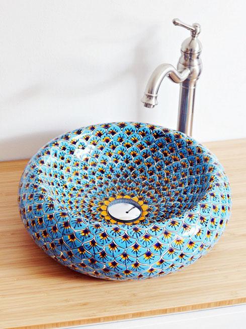 Waschbecken in Marokkanisches Stil