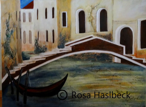 Acrylbild, acryl,Acrylbild, acryl,kreise, orange, rot, bild, malen, malerei, kunst, geko, dekoration, wandbild, abstraktnedig, gondel, schiff, schiffe, gasse, wasser, italien,gelb,blau, braun, malen, malerei, kunst, geko, dekoration, wandbild, abstrakt