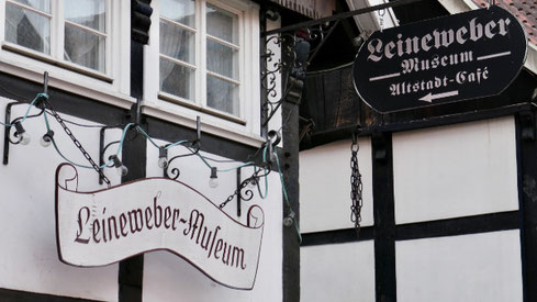 Das Leineweber-Museum in der Altstadt Rheda