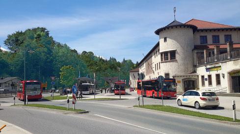 Central station / Hbf Berchtesgaden public transport Room Kingslake Schönau Königssee Bavaria Germany