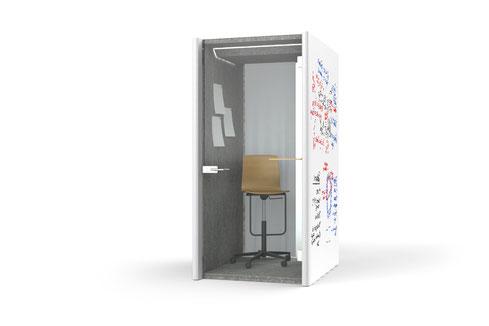 Bosse Design, Höxter, Telephone Cube 2.0, Raum in Raum System, Meeting, Besprechung, Büro, Design