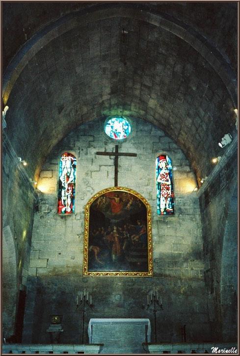 Autel de l'église Saint-Vincent, Les Baux-de-Provence, Alpilles (13)