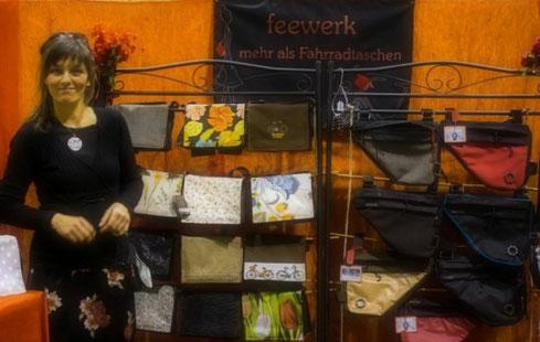 feewerk, Lenkertaschen, Fahrradtaschen, Gepäckträgertaschen, Gepäcktaschen, Fahrrad, Hollandrad, Markt, Messen, Fahrradmesse