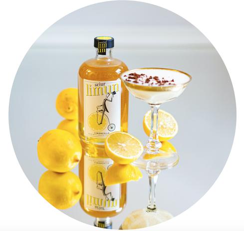 Cocktails Limoncello Spritz Sciur Limun