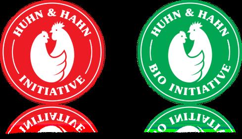 Initiative Huhn-Hahn.de - Zeichen für Bio-Eier und konventionelle Eier