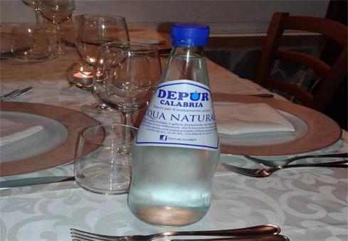 acqua filtrata ristorante