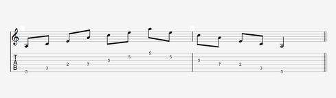 Pattern 3 in Moll