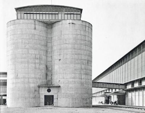 秩父セメント第2工場 『国際建築』1956年9月より