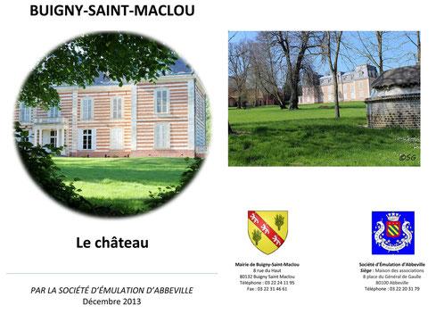 Brochure : Buigny-Saint-Maclou - Le Château