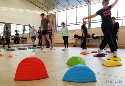 Atelier gym à St-Eloi le 17/01/2014