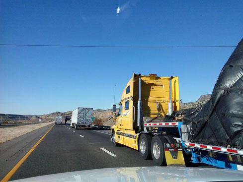 Bild: Utah, HDW-USA, Roadtrip, Amerika, Mister T. und der Weiße Büffel, Truck, Kansas City, Highway