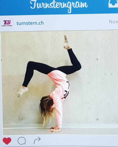 Melissa Rodoni, Gewinnerin Instagram Wettbewerb Turnstern