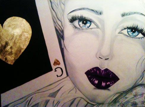 La nota pittrice italiana GIANCARLA PARISI ha donato una sua opera su tela alla piccola Bea .... L'opera verrà venduta con una base d'asta di Euro 4.000,00  Il 24/01/13  Copario Show Strada delle Cacce 20 Torino