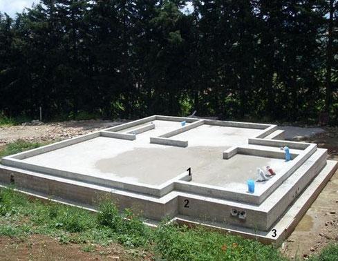Fissaggio delle strutture in legno habitat casa for Fondazioni per case in legno