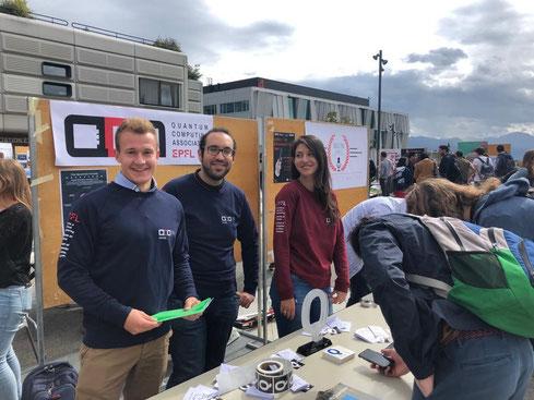 The EPFL QCA members at Associations week 2019