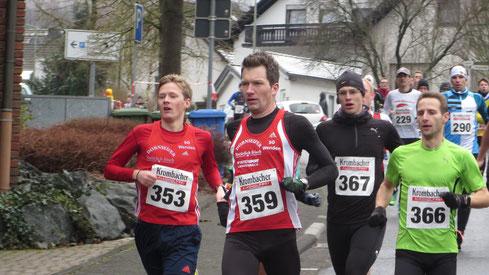 353:Gesamtsieger Marco Giese; Nr. 366 Markus Mockenhaupt und Nr. 359 Sven Daub  (weitere Fotos unten...)