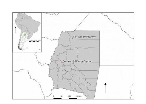 Santiago del Estero province location