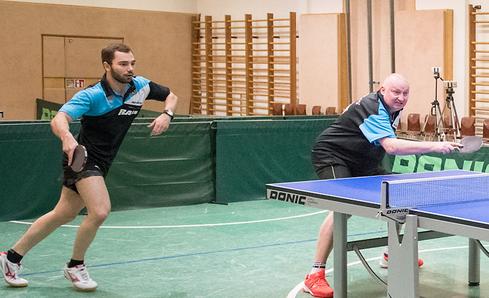 Michael Kufmüller und Tomas Janci mussten wieder ins Doppel.