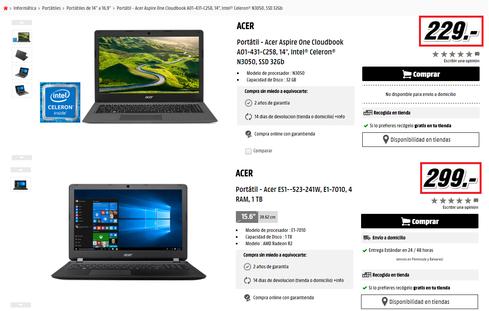 Consejos para comprar ordenadores portatiles