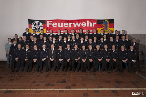 Feuerwehr Osterrönfeld zur Jahreshauptversammlung am 09.01.2015