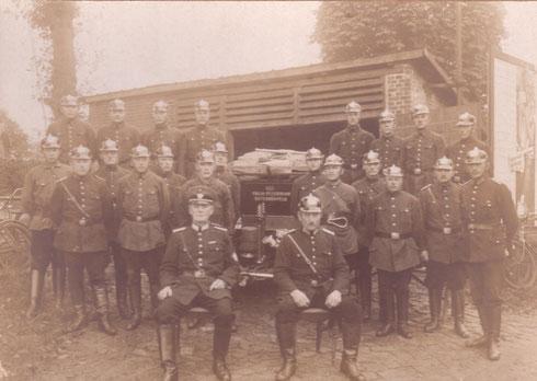 Freiwillige Feuerwehr Osterrönfeld um 1936