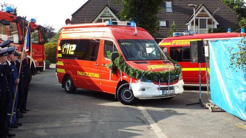 Der neue Einsatzleitwagen.   Foto: Feuerwehr Osterrönfeld