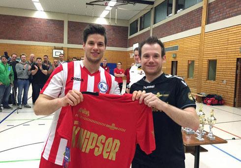 Bester Knipser 2015: Arne Ruff (Foto: BFC Braunschweig)